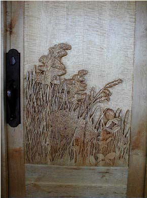 Custom Doors Woodcarving Oil Paintings Pencil Drawings